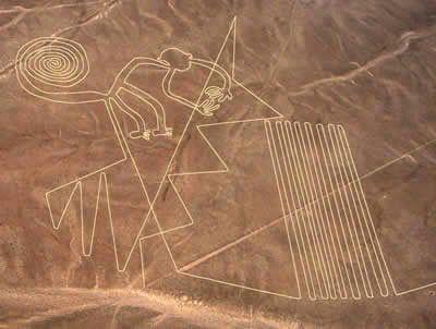 Lineas Y Geoglifos De Nasca Las Famosas Y Misteriosas Lineas De Nasca Estan En El Desierto Homonimo En L Lineas De Nasca Lineas De Nazca Alienigenas Antiguos