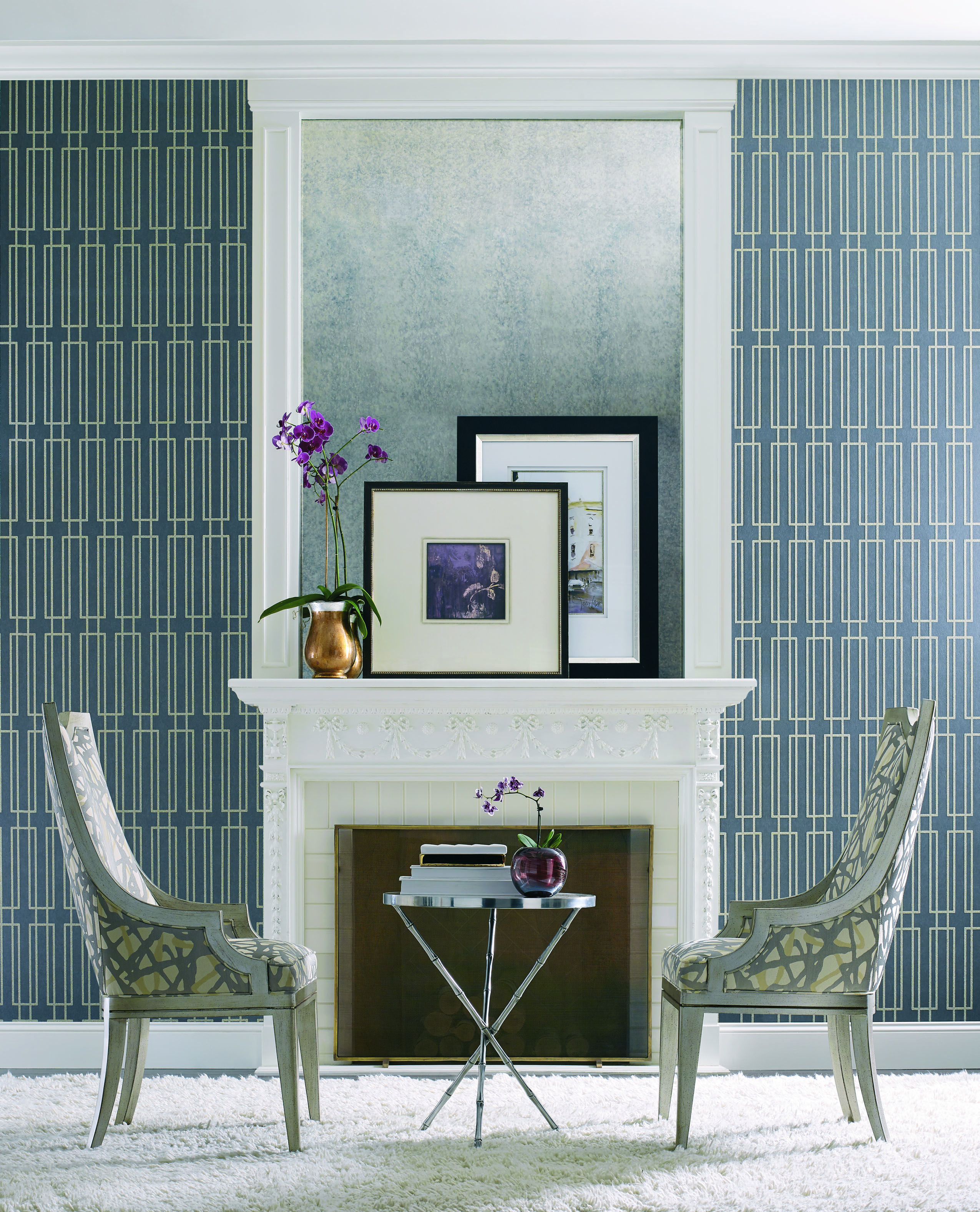 Wallpaper Portodesign  Candice Olson  Book Modern Artisan