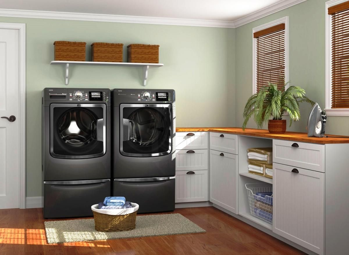 Simple Laundry Room Makeovers Elegant Laundry Room Design Laundry Room Decor Pinterest