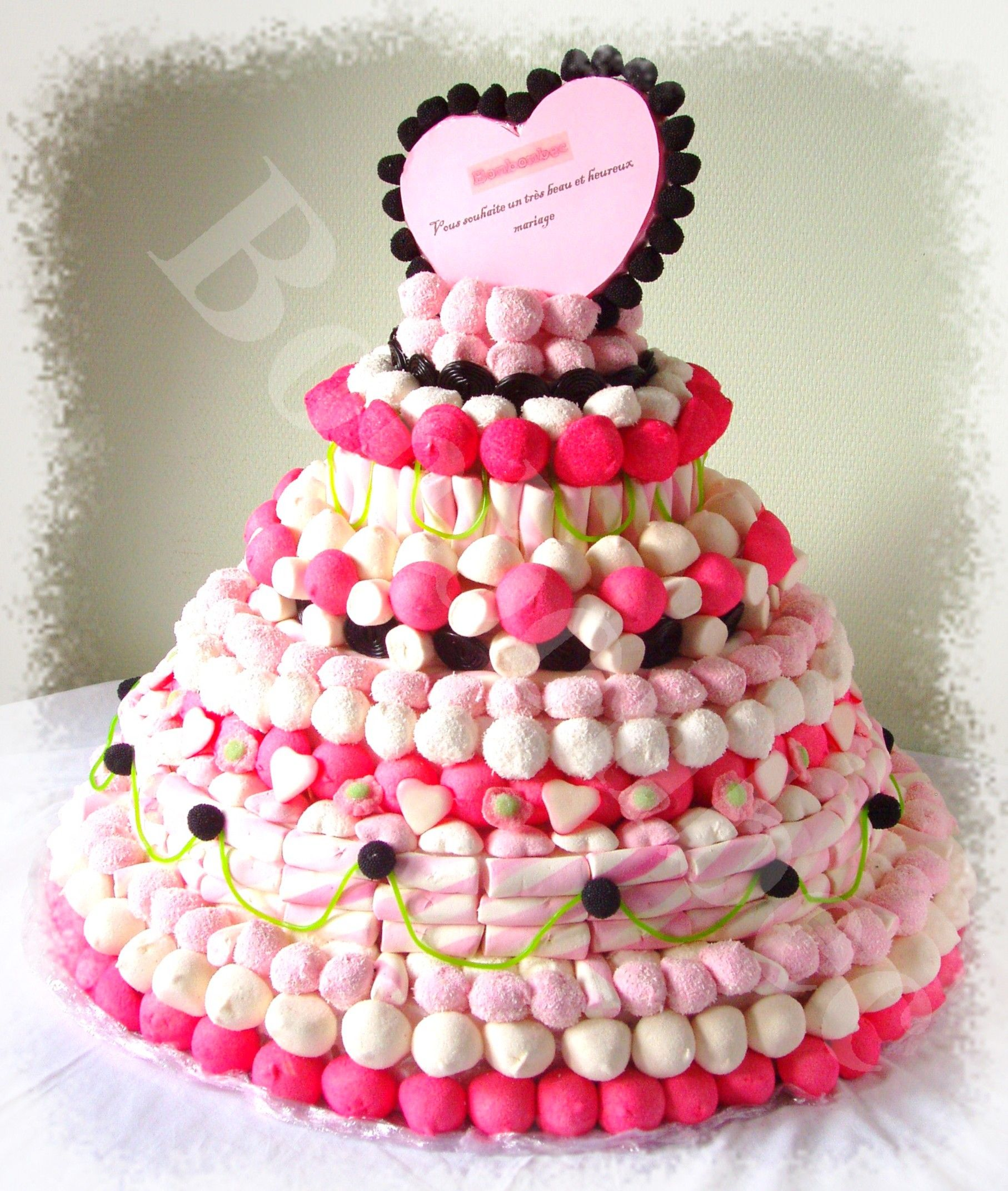 1000 images about gteau de bonbons on pinterest - Piece Montee Bonbon Mariage