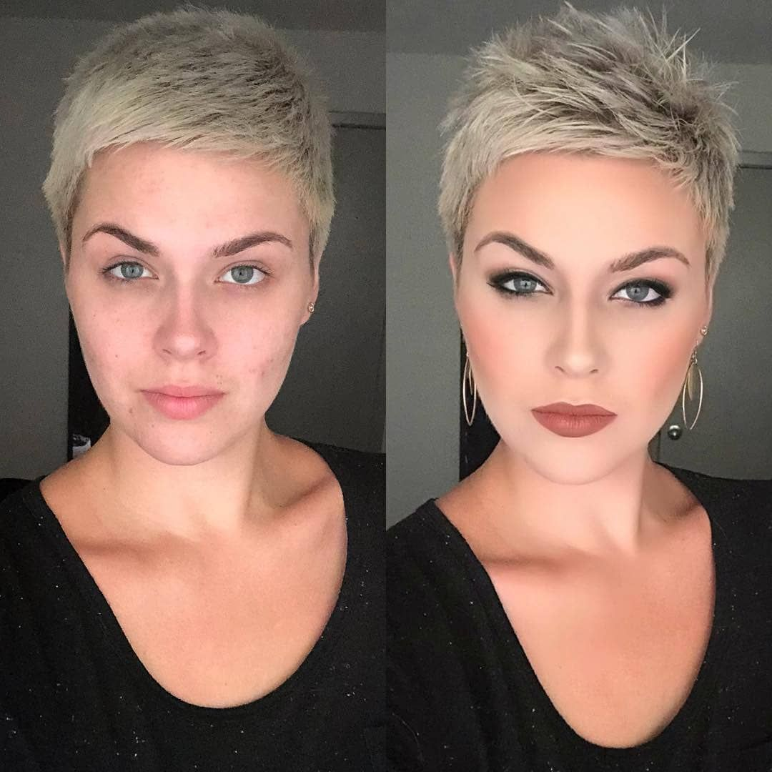 "Official Page Short Hair Ideas on Instagram: ""��Credits to @strength.n.dignity_31 More hairstyles: Link in Bio! • shorthair #shorthairideas #blondehair #pixiecut #pixiehair #bobhaircut…"""
