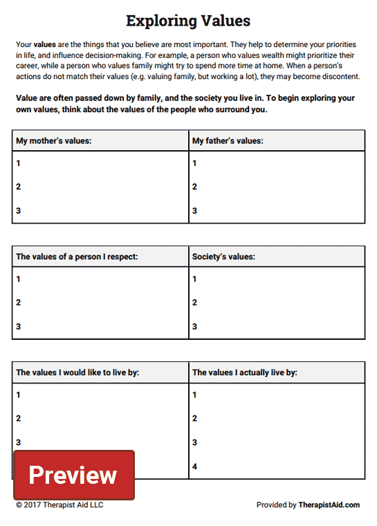 47++ Happiness trap worksheets Information
