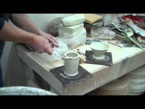 Bottle With Threaded Top John Britt 2011 Http Johnbrittpottery Com Pottery Lessons Ceramics Pottery Art Pottery Videos