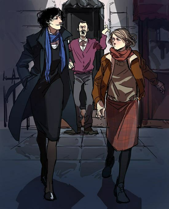 Fem Sherlock, fem john and male hudson | I AM SHERLOCKED