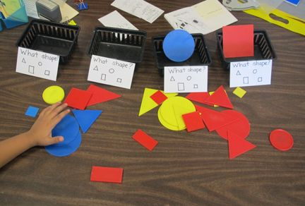 Sorting Shapes By Attributes Worksheets For Kindergarten ...