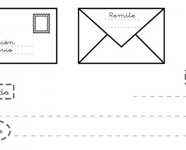 Plantilla Partes De Una Carta Para Ninos Letter For Kids