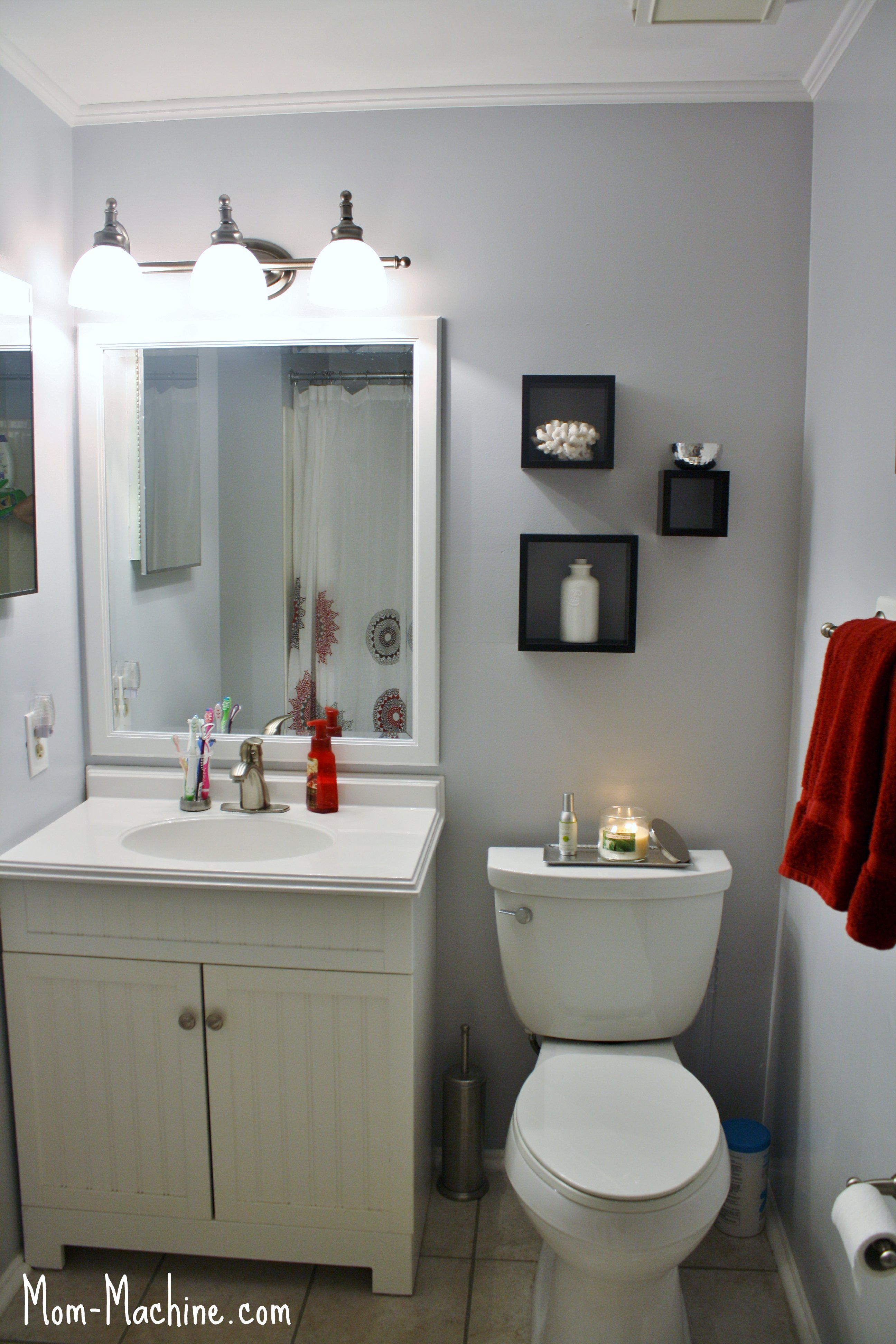 lowe's bathroom vanities Bathroom Redesign for Under