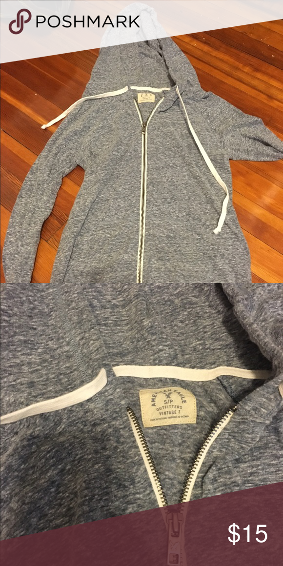 Size Small vintage American eagle jacket Lightweight and comfy! Worn a few times. American Eagle Outfitters Jackets & Coats