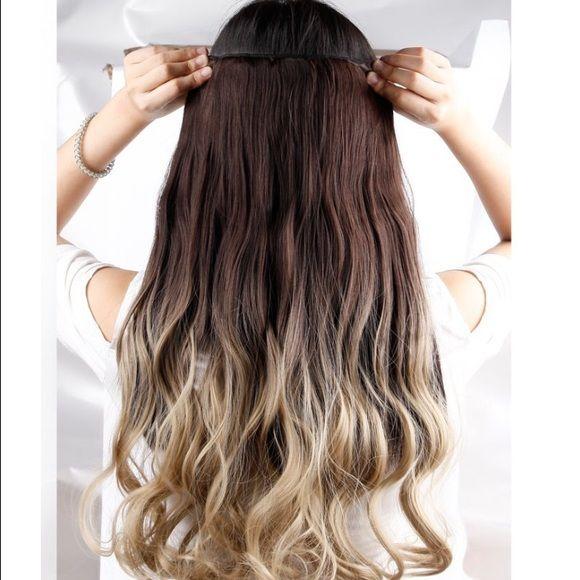 Premium Synthetic 23clipon Extension Premium Quality Clip In Hair