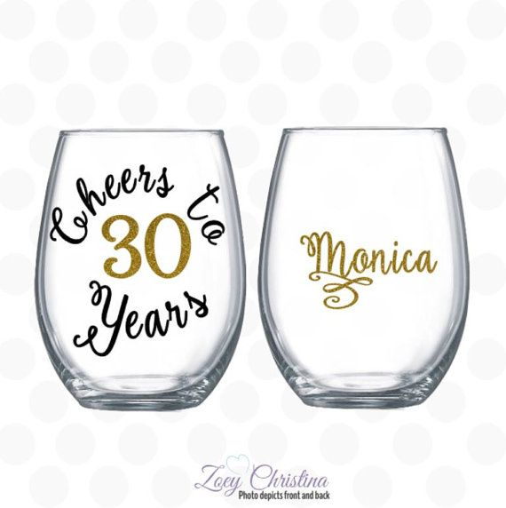 Cheers To 30 Years 30th Birthday Gift For Women Gift For 30 Years