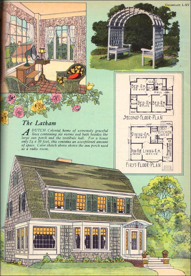The Latham 1925 American Builder Magazine BY William A RAdford Co