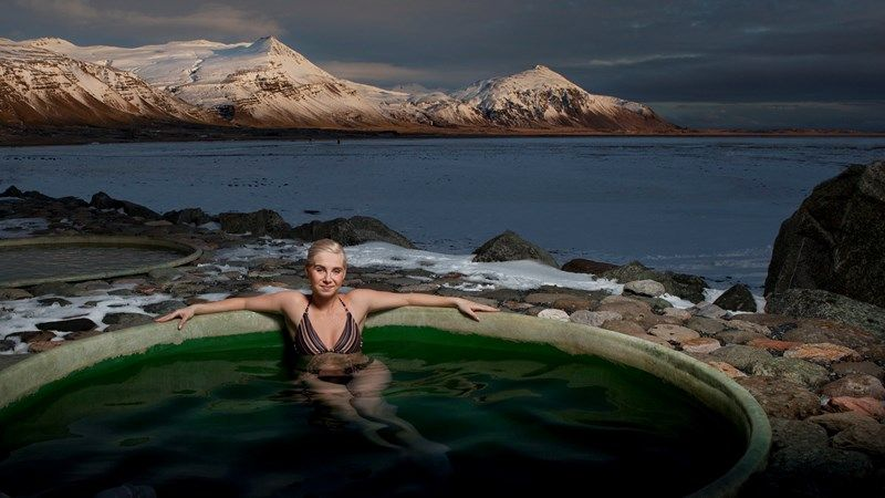 Pools in Iceland