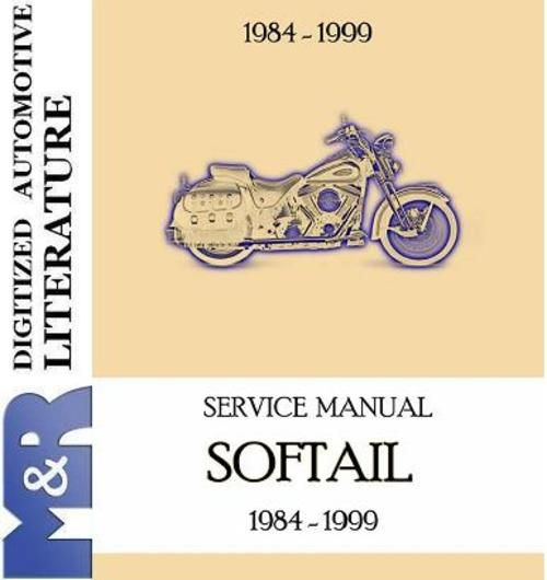1999 softail wiring diagram 1984 1999 harley davidson softail evolution service manual  1999 harley davidson softail evolution