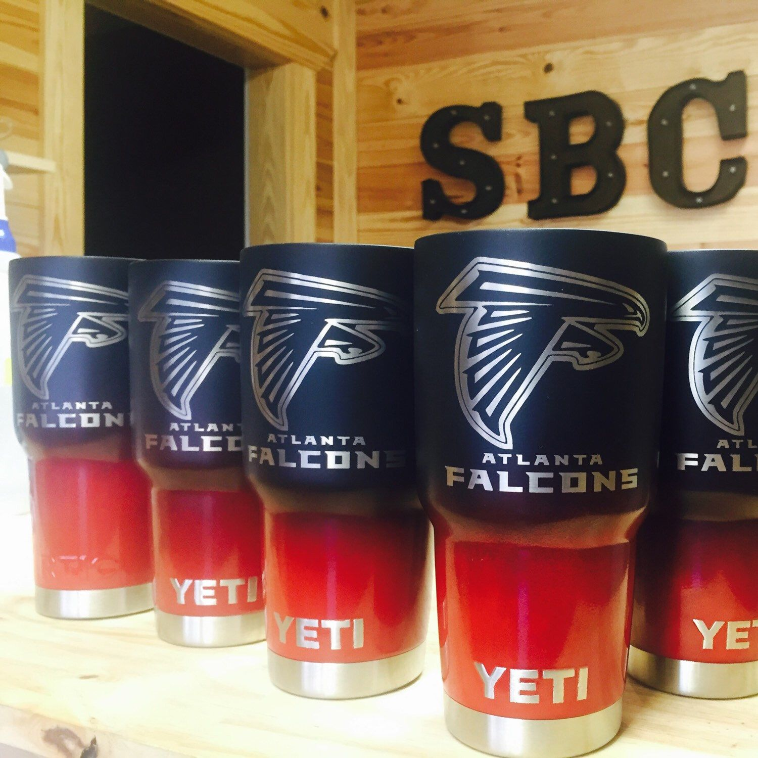 Atlanta Falcons Yetis And Rtics Yeti Cup Designs Christmas Cups Cup Design