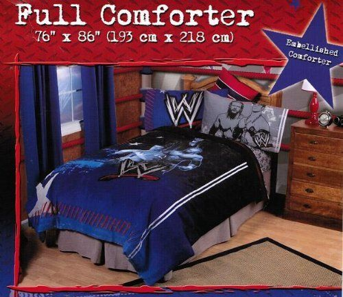 Wwe Bedroom Decor: WWE Ringside Comforter