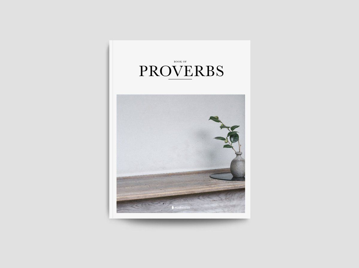 Shop Alabaster Co Book Of Proverbs Proverbs New Living