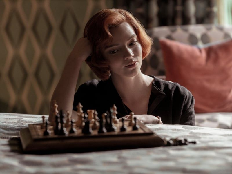 The Queen S Gambit Makes Chess Exciting Again Anya Taylor Joy Anya Shows On Netflix