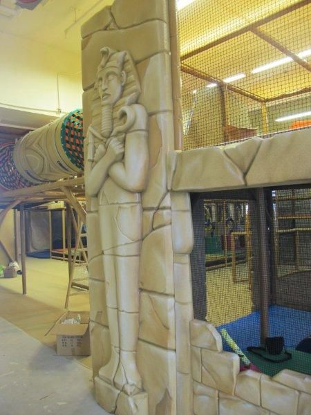 Custom Theming In An Indoor Playground At A Family Entertainment Center We Can Design Any