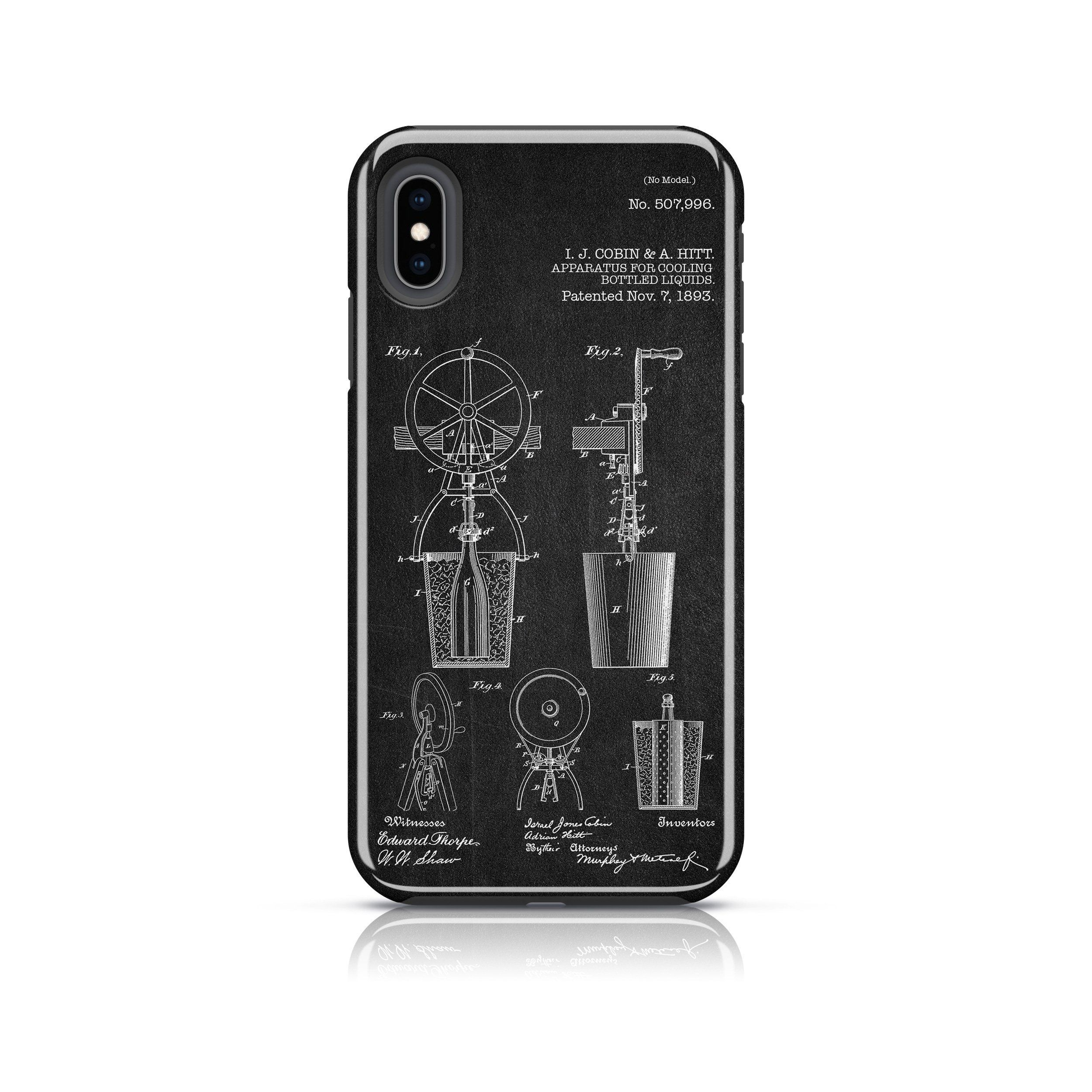Apparatus For Cooling Bottled Liquids Patent Iphone Case Iphone Cases Iphone Phone Cases Iphone