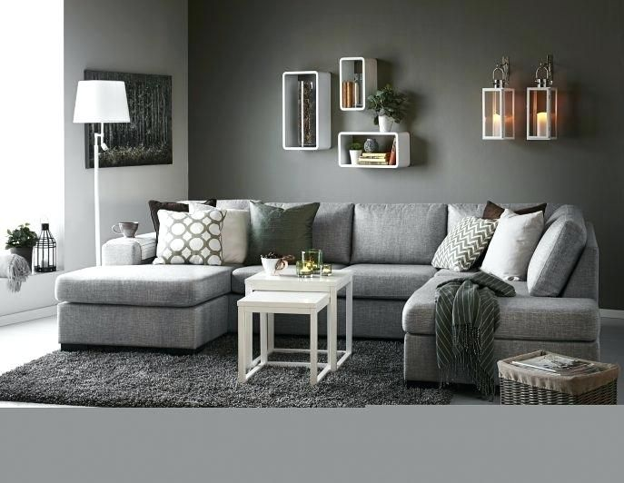 34 Awesome Grey Sofa Living Room Ideas For You In 2020 Grey Sofa