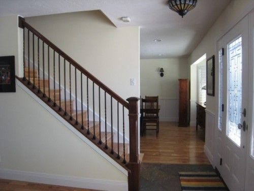 Best Wall Is Built Out To Where The Handrail Meets The Ceiling 400 x 300