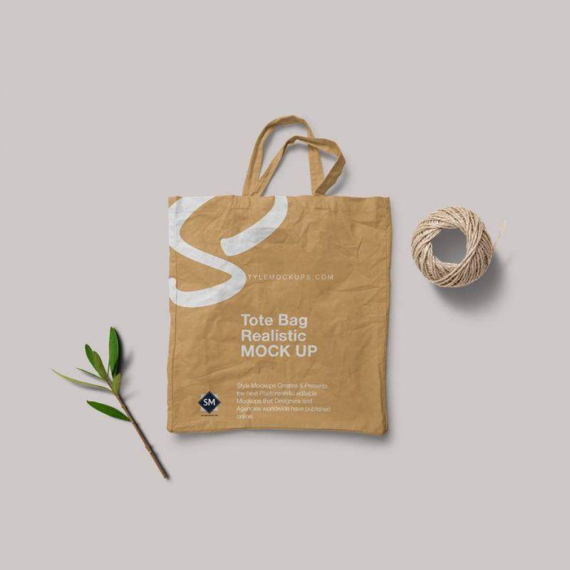 Download Free Psd Tote Bag Mockup Bag Mockup Free Tote Free Mockup