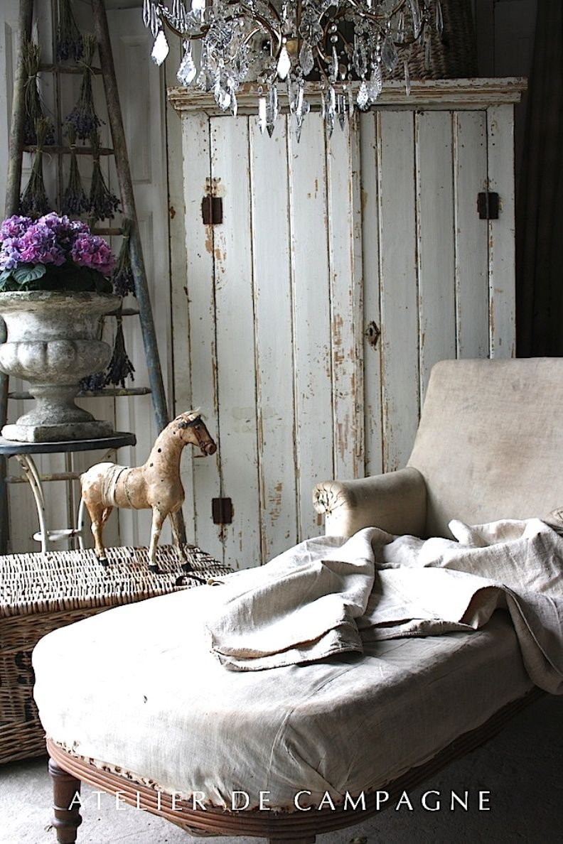 Chaise Campagne Chic Atelier De Campagne Home Chaise Pinterest Campagne Meuble