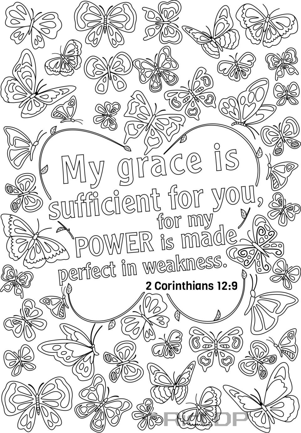 14 bible verse coloring pages for grown ups see the link
