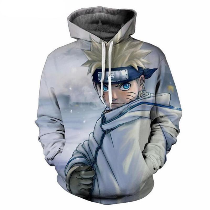 24f56e8bea6e7 Naruto Uzumaki Hoodie Sweatshirt Jacket 3D Print