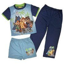 3d769015bff2 Alvin   the Chipmunks Chipwrecked Toddler Boys Pajamas