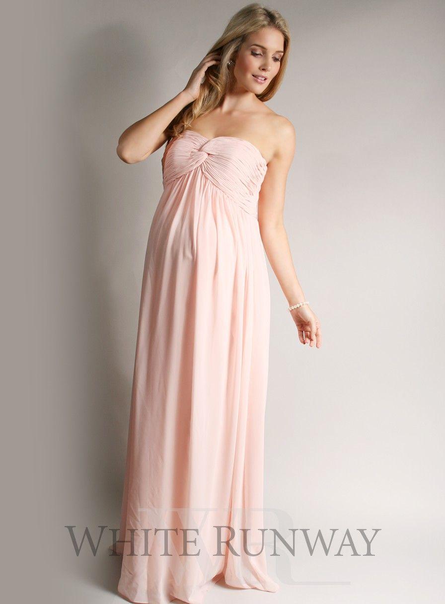 Honour strapless maxi dress maternity bridesmaid dress honour strapless maxi dress maternity bridesmaid dress ombrellifo Gallery