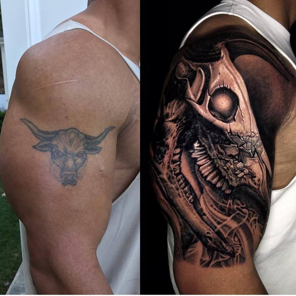 Home tattoo spirit stier tattoos the rock dwayne