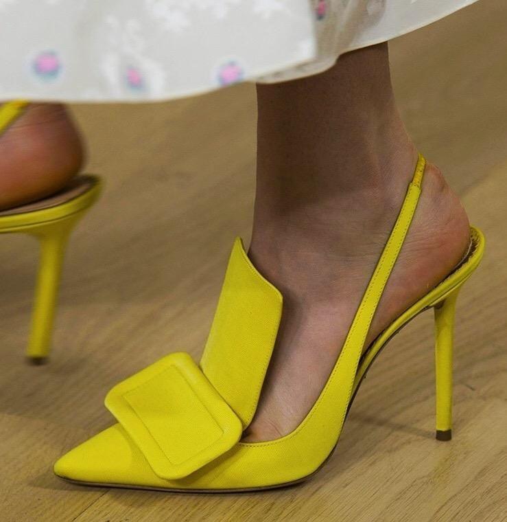 Silk Slingback Sandals in 2020 | Slingback sandal, Pumps heels ...