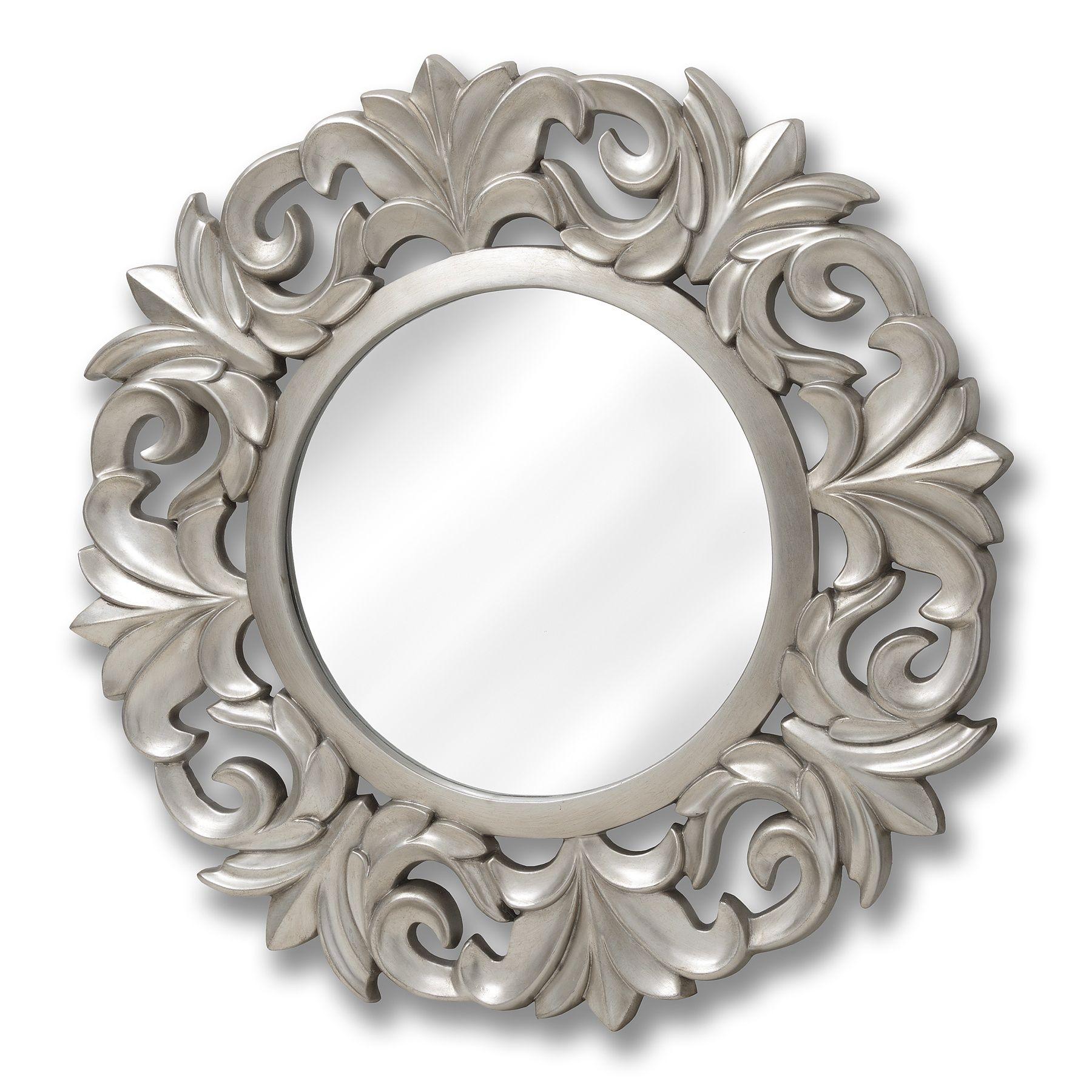 Large Baroque Circular Mirror | Circular mirror, Round mirrors and ...