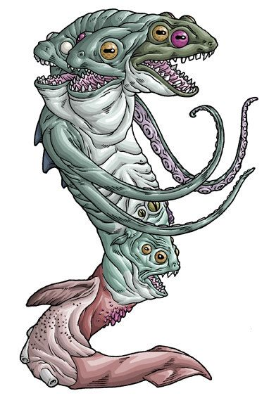 Servitor Of The Outer Gods Hp Lovecraft Inspired Art Print Junk