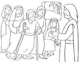 Resultado De Imagen Para Milagros De Jesus Para Colorear