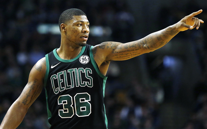 Download wallpapers Marcus Smart, Boston Celtics, American