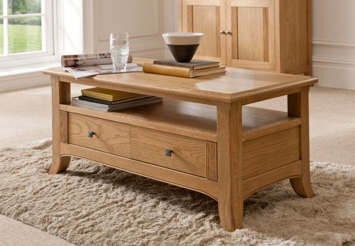 Oak Coffee Table Part Of The Toledo Range