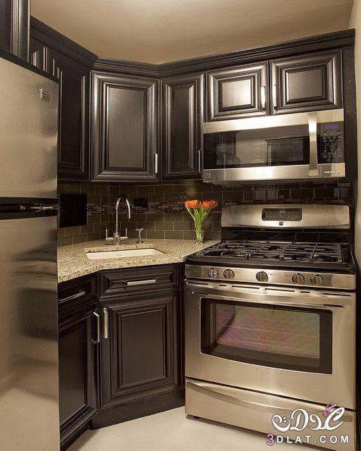 تصاميم مطابخ حديثة بسيطة 2020 مطابخ للمساحات الصغيرة ديكورات مطابخ صور مطابخ اجنبية Kitchen Remodel Small Kitchen Design Small Kitchen Design Modern Small