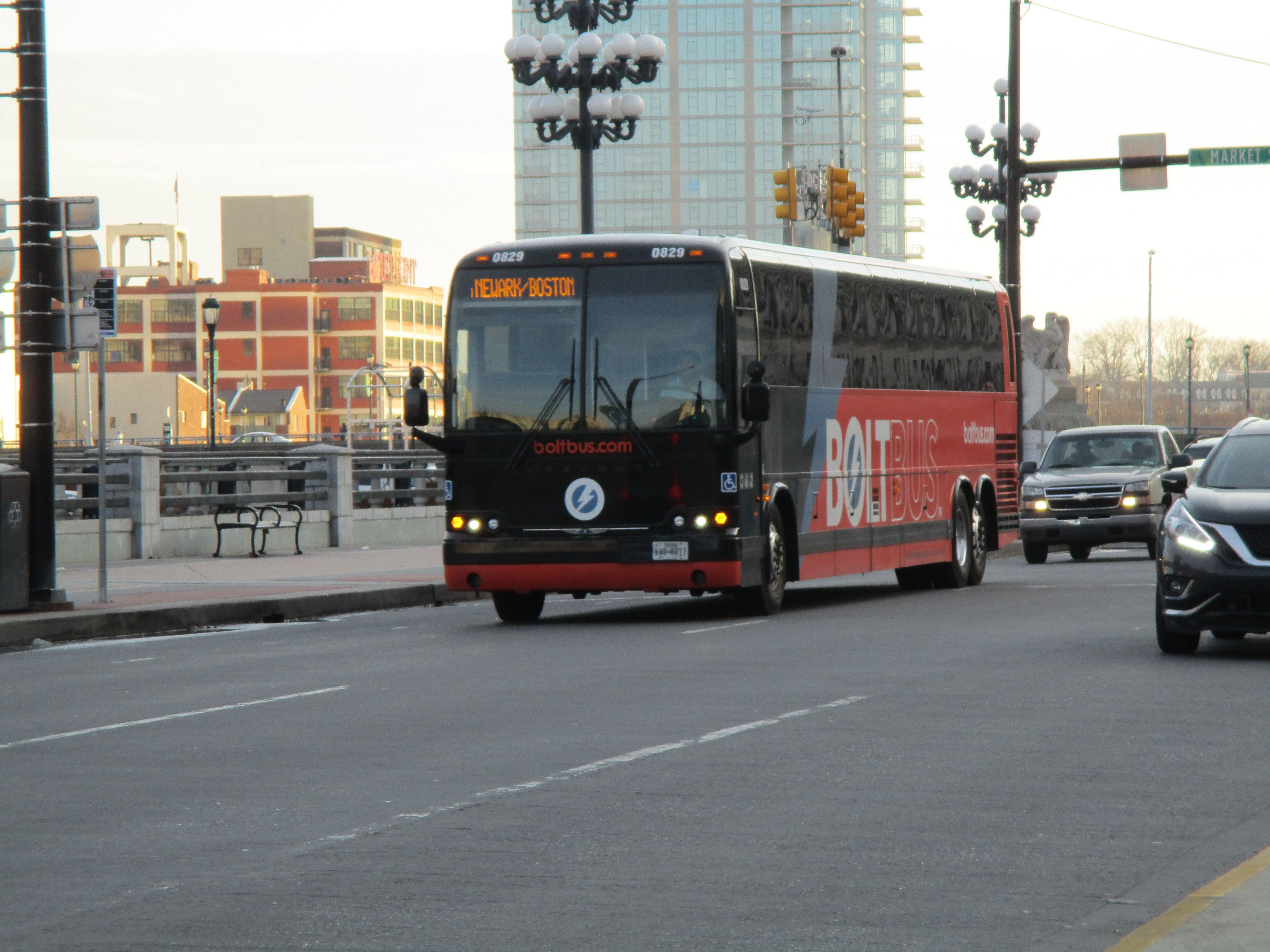 Bolt Bus In Philadelphia At 29th Market St With Images