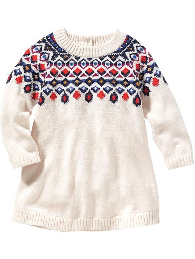 Old Navy Fair Isle Sweater Dress For Baby   Photography Ideas ...
