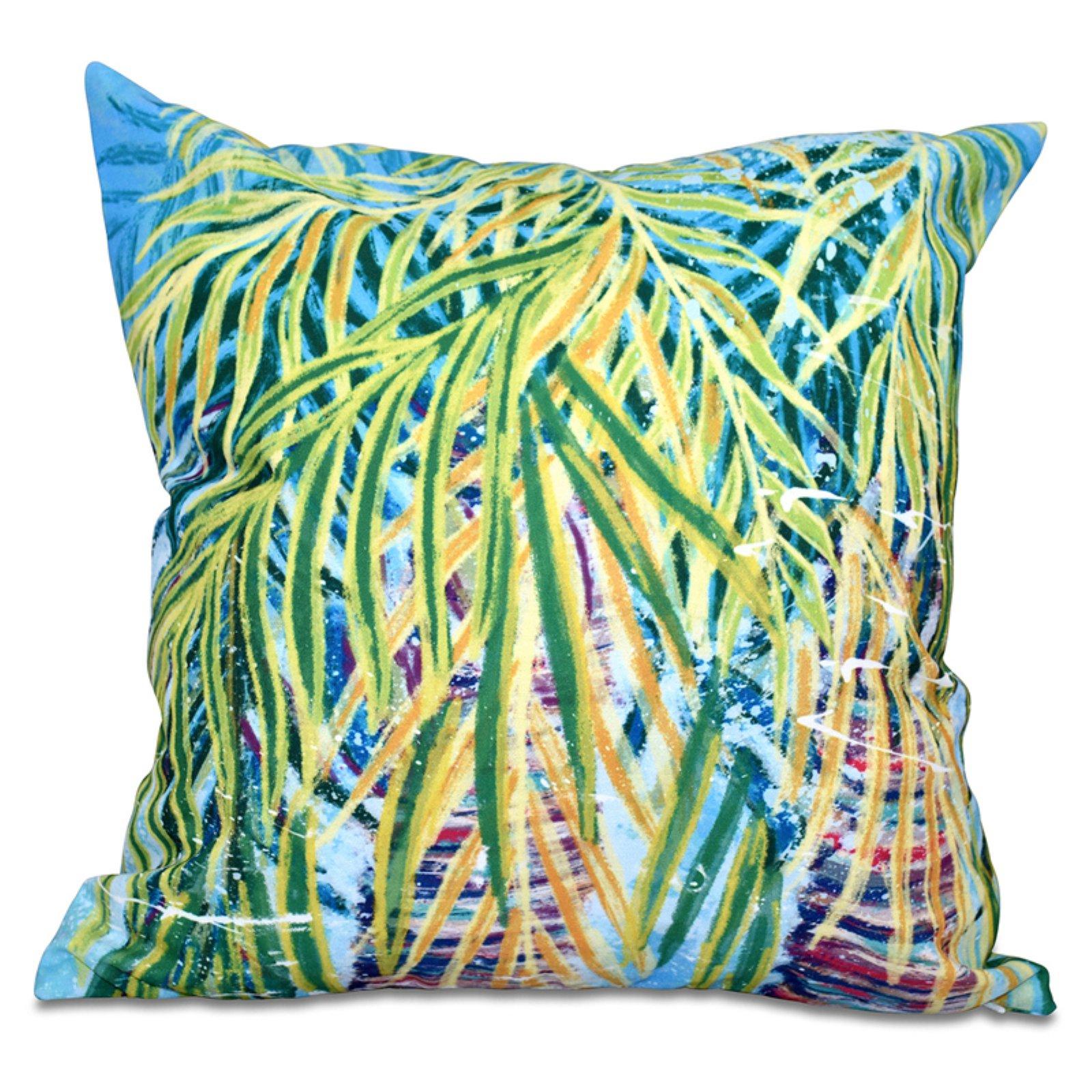 E by design Decorative Pillow Aqua