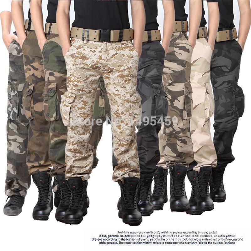 Men hunting Camouflage tactical military clothing paintball army ...