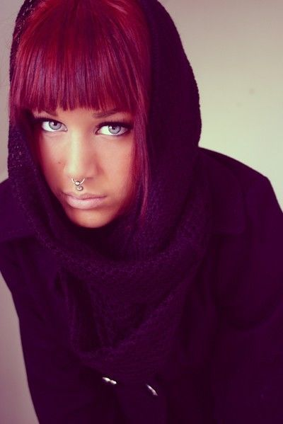 1000 images about fashion hairstyle on pinterest bobs my hair and short hairstyles - Coloration Cheveux Rouge Violet