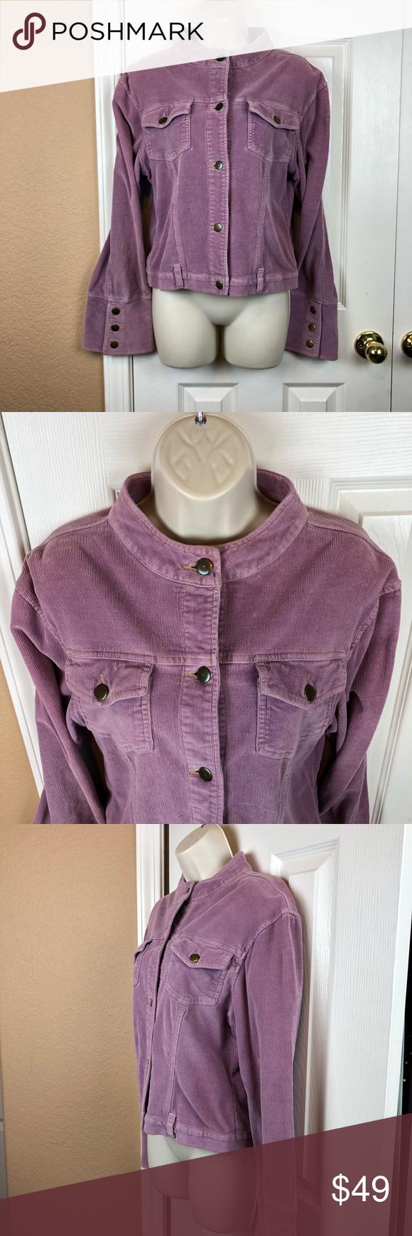 Tulle Retro Jean Jacket Lavender Size Large Retro Jeans Clothes Design Jean Jacket [ 1740 x 580 Pixel ]