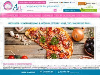 Art De La Gourmandise propose des ustensiles de cuisine et du matériel à pâtisserie de qualité.