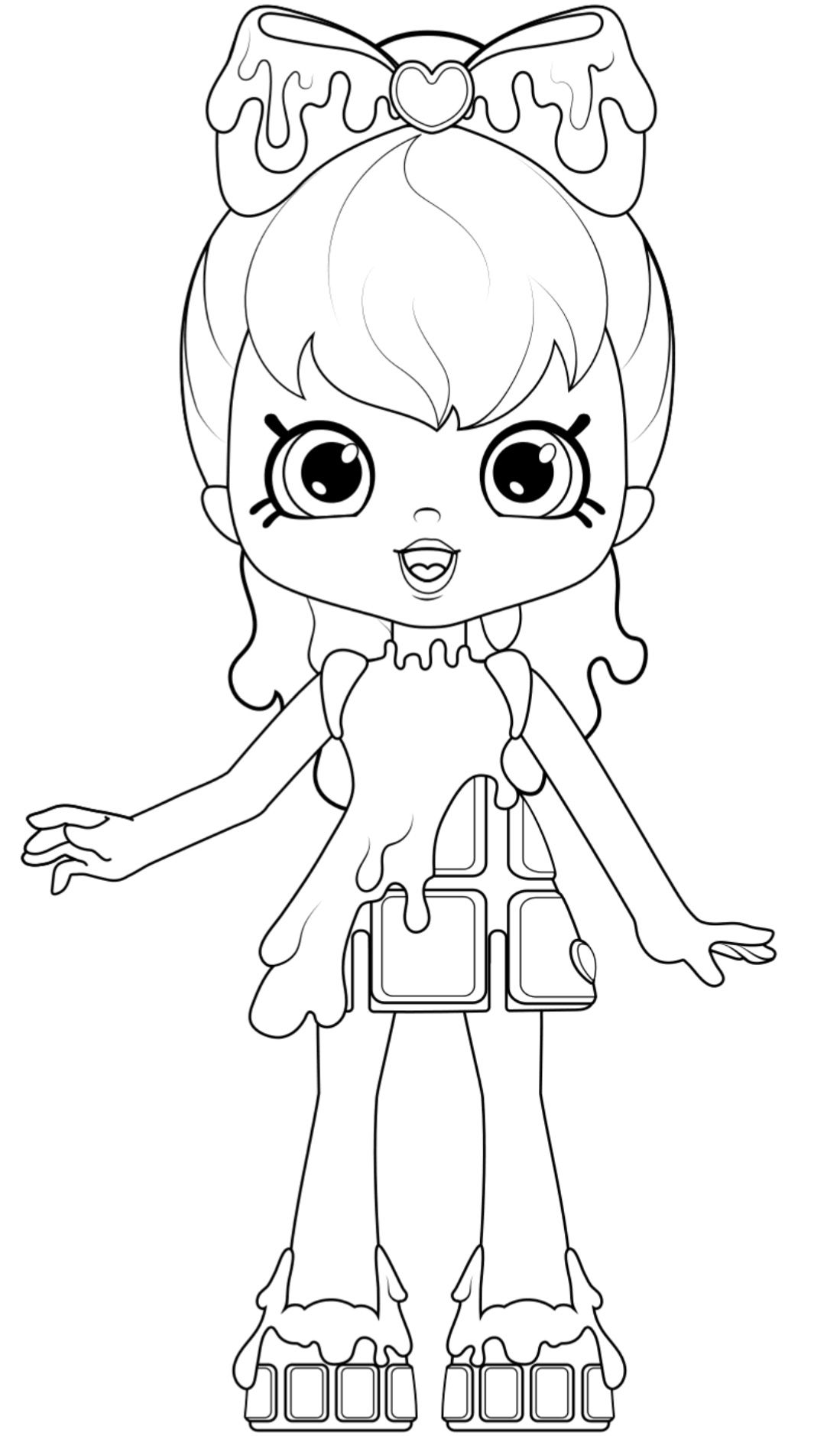 Shopkins Shoppie Coloring Cocolette Happy Places Shopkin Coloring Pages Shopkins Coloring Pages Free Printable Shopkins Colouring Pages