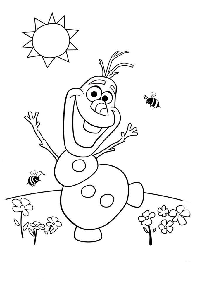 imprimir dibujos de frozen | Frozen | Pinterest | Coloring pages ...