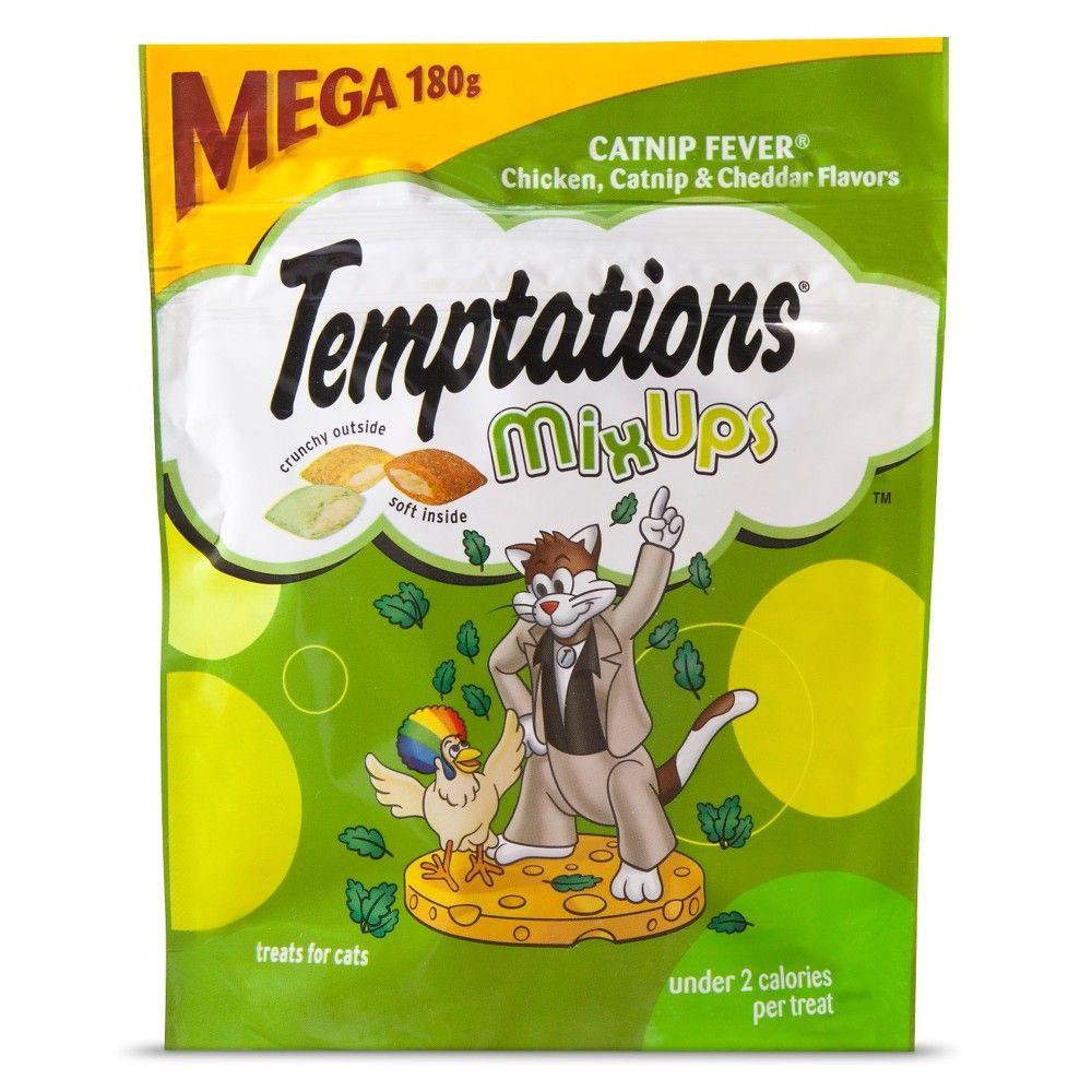 Temptations Catnip MixUps Cat Treats 6.35oz Cat fleas