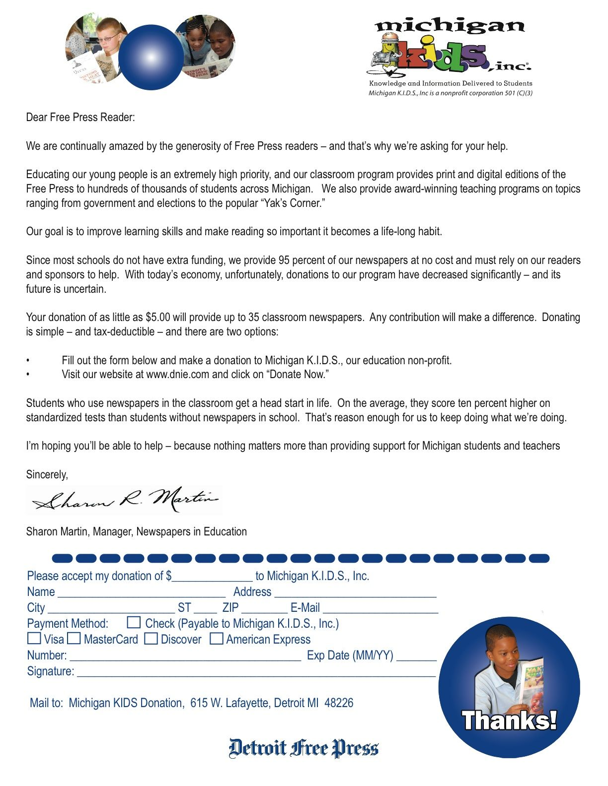 school fundraiser cover letter example of a school fundraising donation letter that you can copy